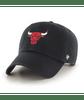 Chicago Bulls Black Clean Up Cap