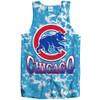 Chicago Cubs Tie-Dye Vintage Tank