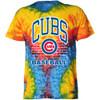 Chicago Cubs Home Run Tie-Dye Tee