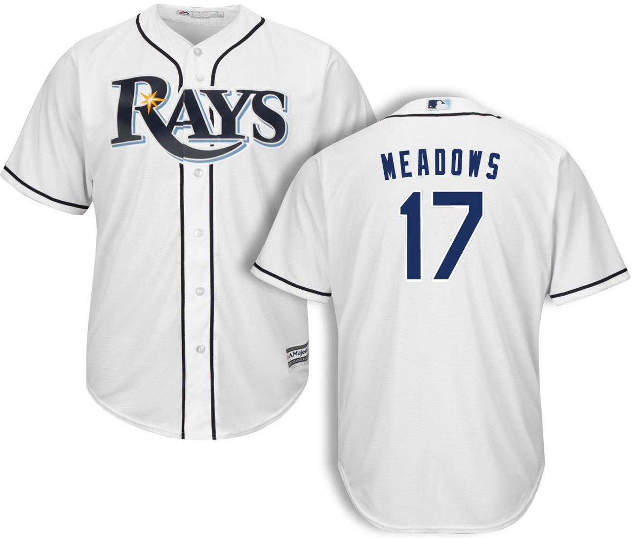 best website 422db bae1f Austin Meadows Jerseys & Shirts | Rays MLB Apparel