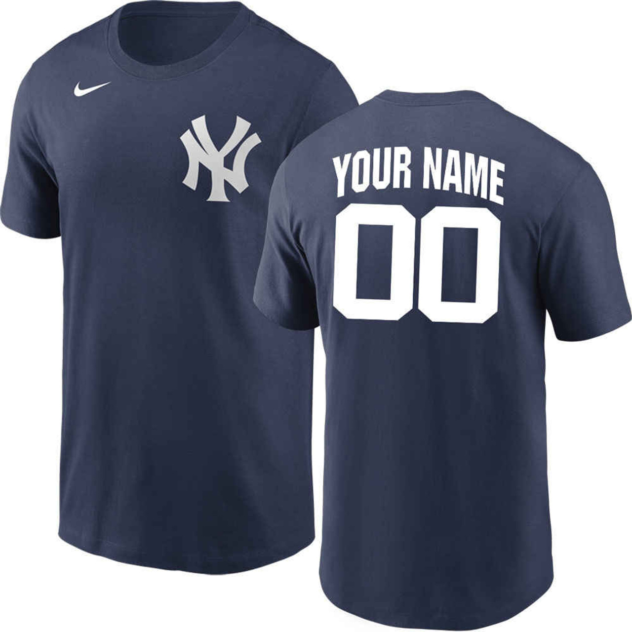 morir Puerto marítimo olvidar  New York Yankees Personalized T-Shirt by Nike | MLB
