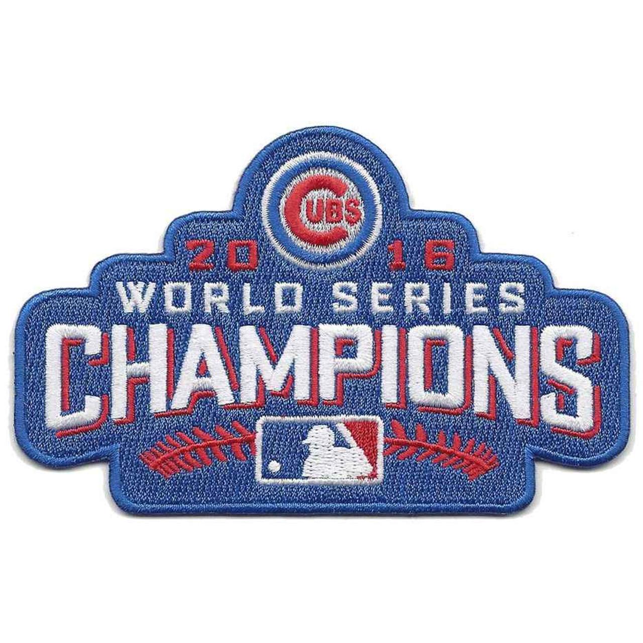 Order World Series Champions Patch Emblem Source