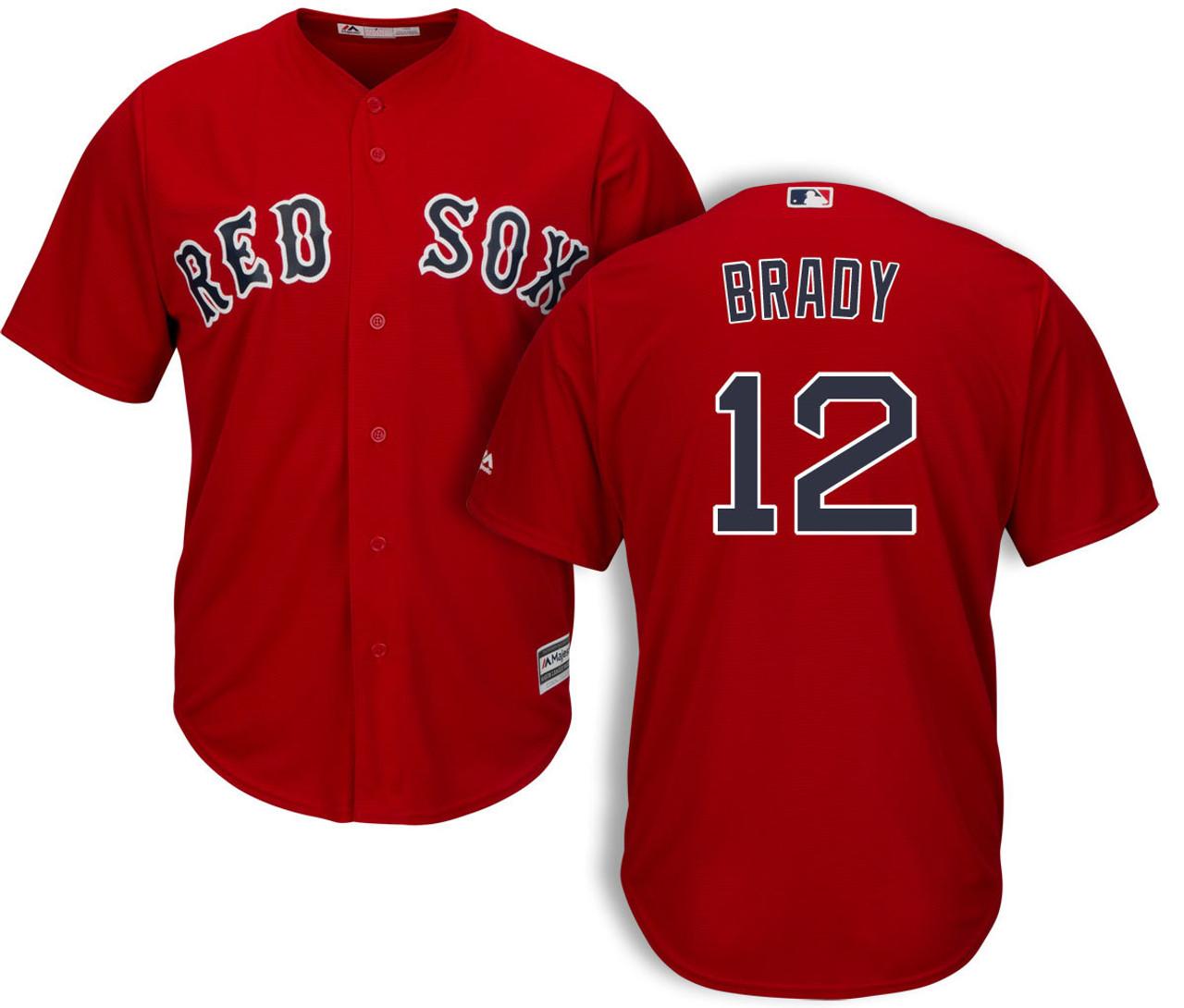 the best attitude b5638 ca167 Tom Brady Jerseys & Shirts | Red Sox MLB Apparel