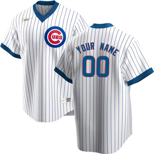 Frustración Haciendo Adoración  Chicago Cubs Personalized 1968-69 Cooperstown Jersey by Nike