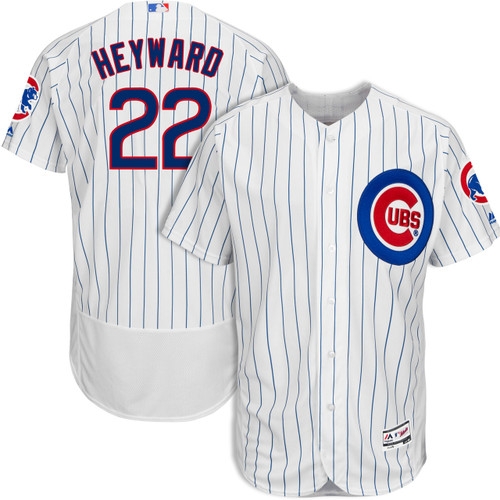 Jason Heyward Chicago Cubs Home Authentic Jersey by Majestic