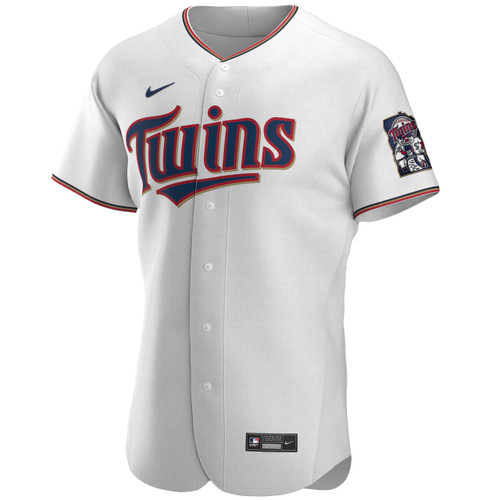 Minnesota Twins White Home Authentic Jersey by Nike