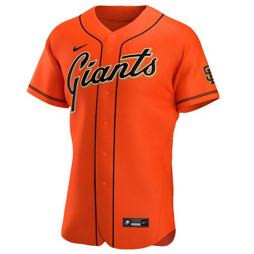 San Francisco Giants Alternate Orange Authentic Jersey by Nike