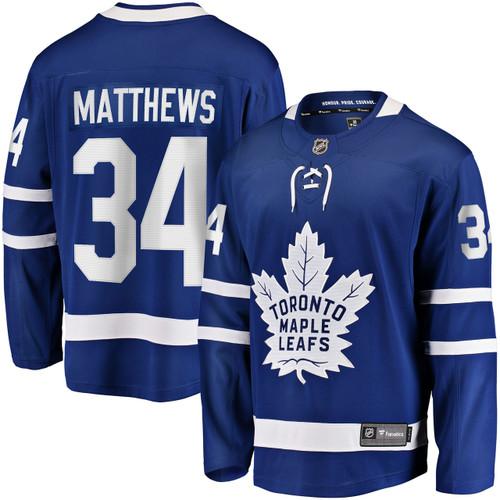 Auston Matthews Toronto Maple Leafs Blue Breakaway Jersey by Fanatics