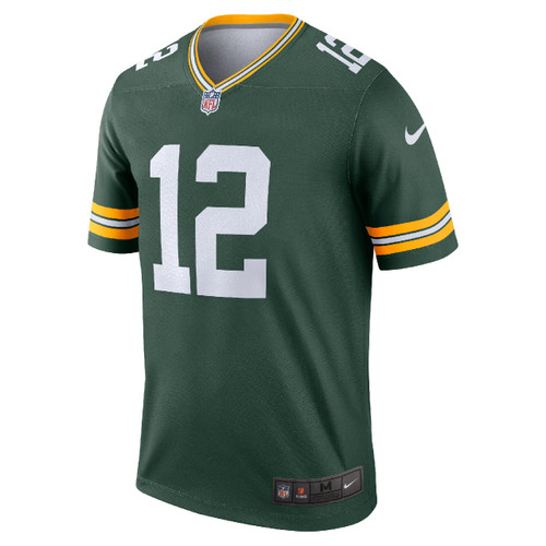 Aaron Rodgers Green Bay Packers Home Men's Legend Jersey by Nike