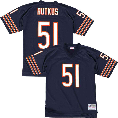 Dick Butkus Chicago Bears 1966 Vintage Replica Jersey by Mitchell & Ness