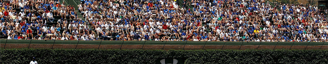 Wrigley Field Bleacher Necessities at SportsWorldChicago.com
