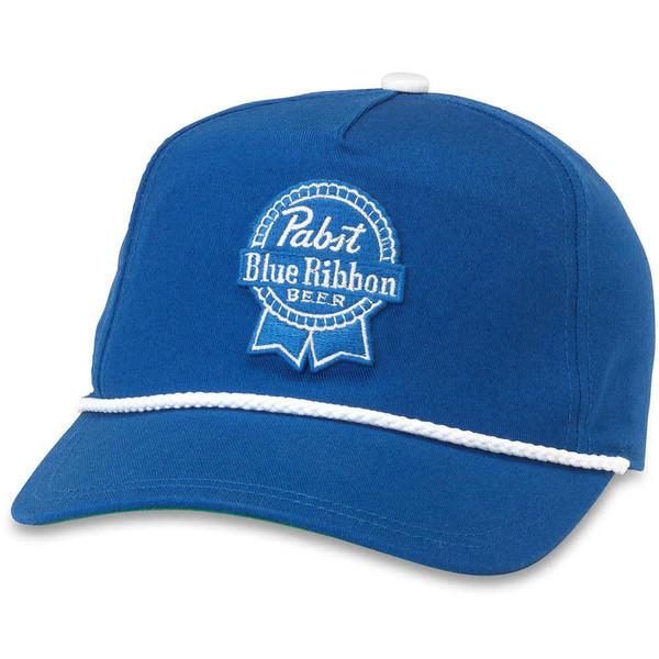Pabst Blue Ribbon Low Profile Blue Hat American Needle New Baseball Cap