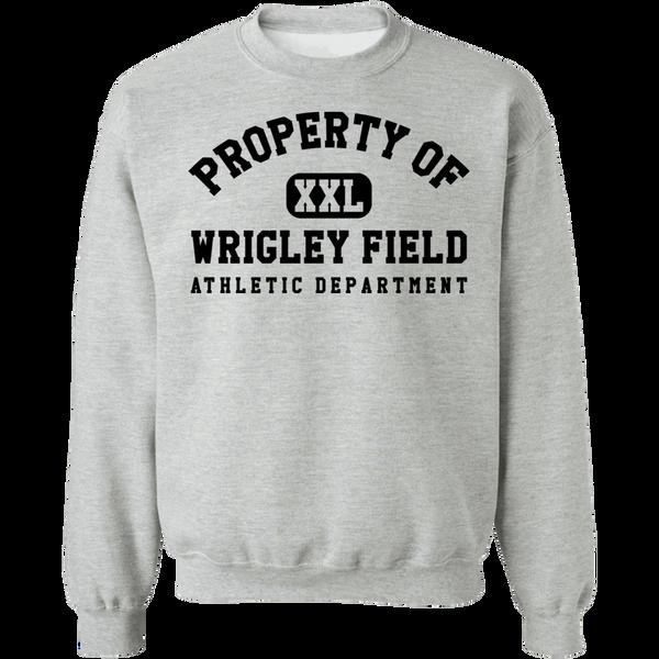 Property of Wrigley Field Athletic Dept Hoodie