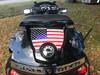 American Flag - RT Series Rear Trunk Polyurethane Decal (2010-2019)