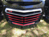 F3 Front Grill Inserts - Color Match Paint - Urethane - VIPER RED (18 PCS)