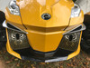 RT Front Grills 2014-2019 - 2 Spider Logos - Carbon Fibre Circuit Yellow