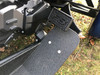 Spyder Brake Pedal - F3 Logo - Billet aluminium - LineX - Fits F3 Series all years