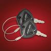 Black Spyder Key covers - Set of 2