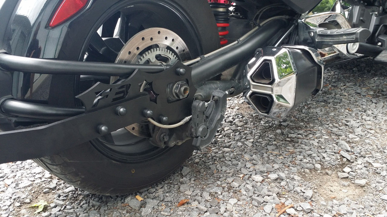 F3/F3S 2015 and up Trailer Hitch  WITHOUT HARNESS