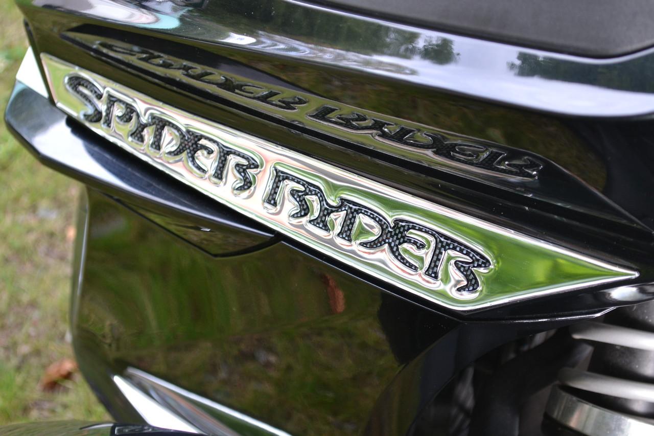 RT Front side Chrome Spyder Ryder #109 - Domed Urethane 2014 and up