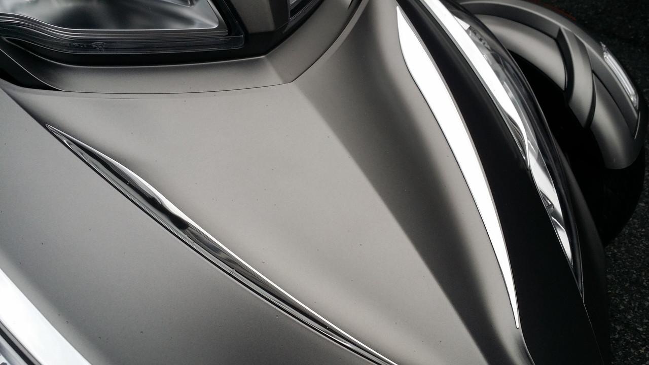 RT Chromed Front Trunk Inner Trims #101  - Polyurethane (2 PCS) 2010-2019