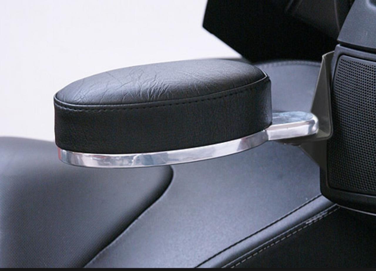 RT Series Black Adjustable Armrest (fits 2010-2017)