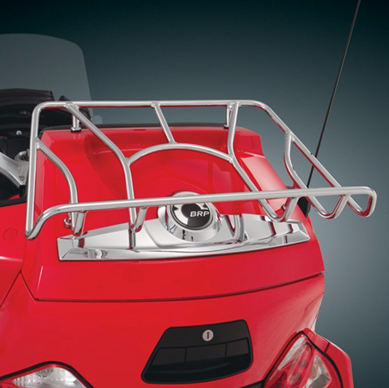 RT Series Luggage Tour Rack - Chrome Edition 2010-2019