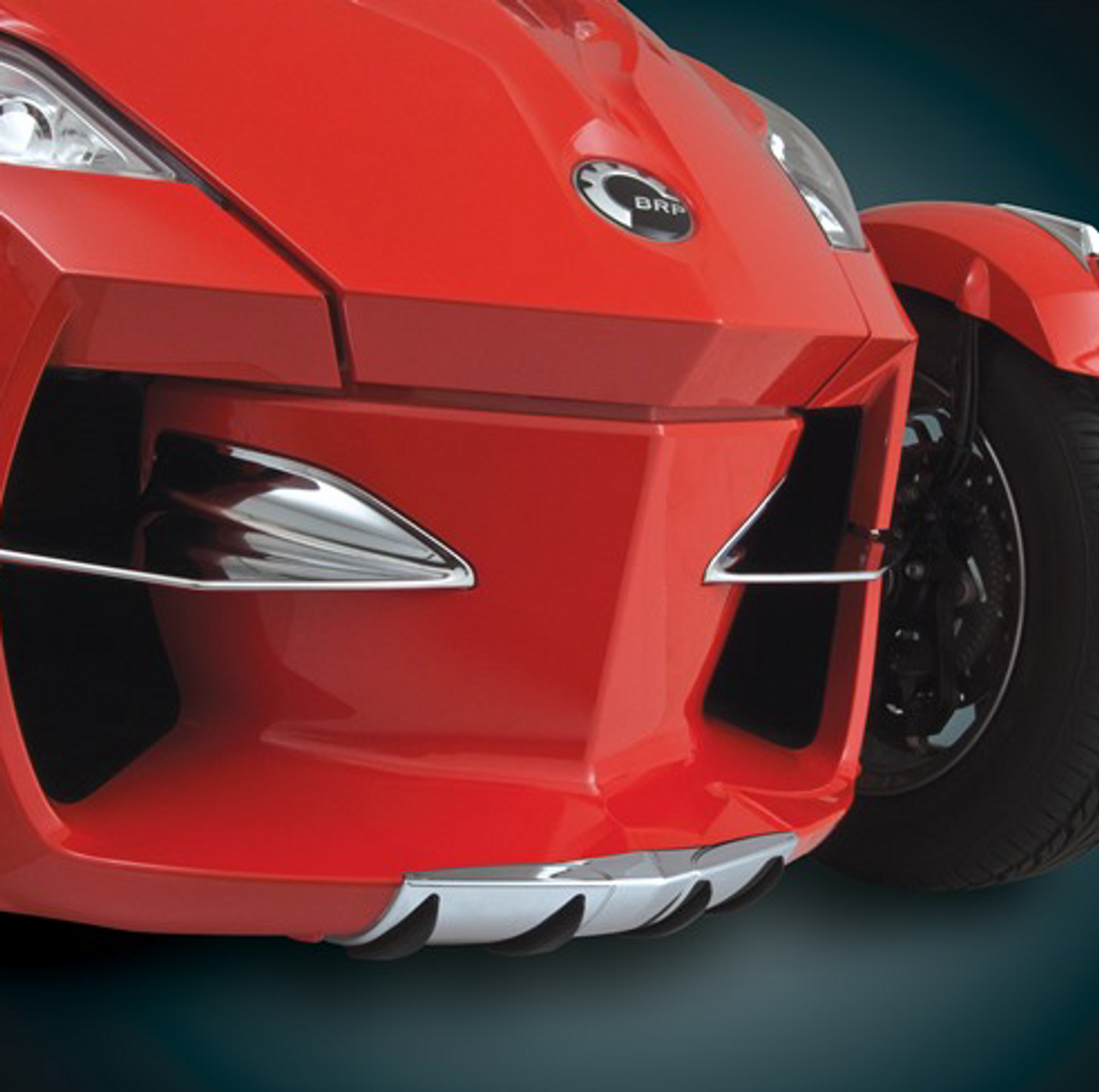 RT Chrome Wear Bar Accent (Front nose protection) 2010-2013