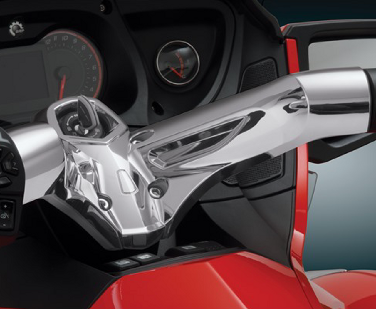 RT Chrome Handlebar Cover - 2010-2019