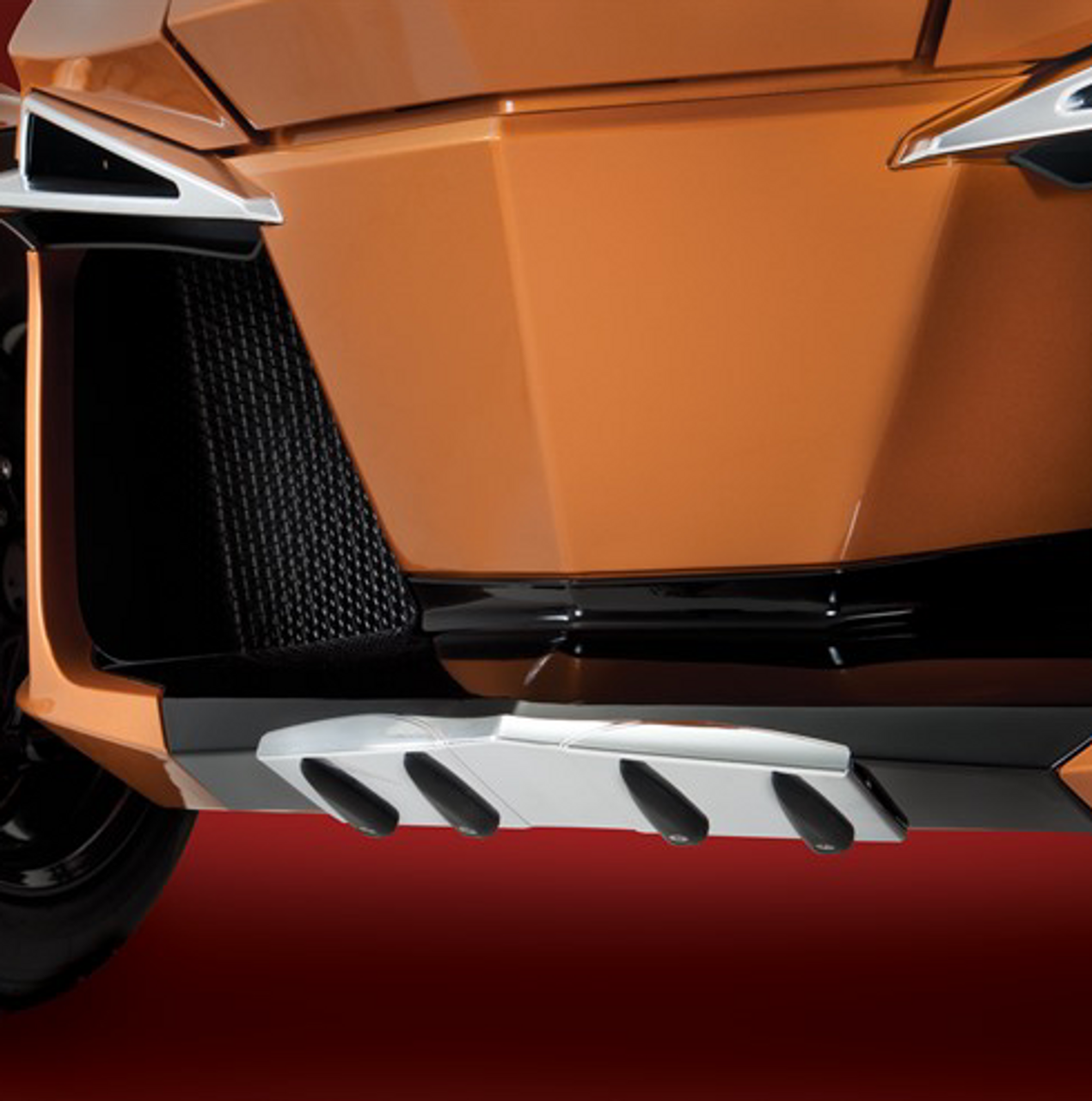 RT Chrome Wear Bar Accent (Front nose protection) 2014-2019