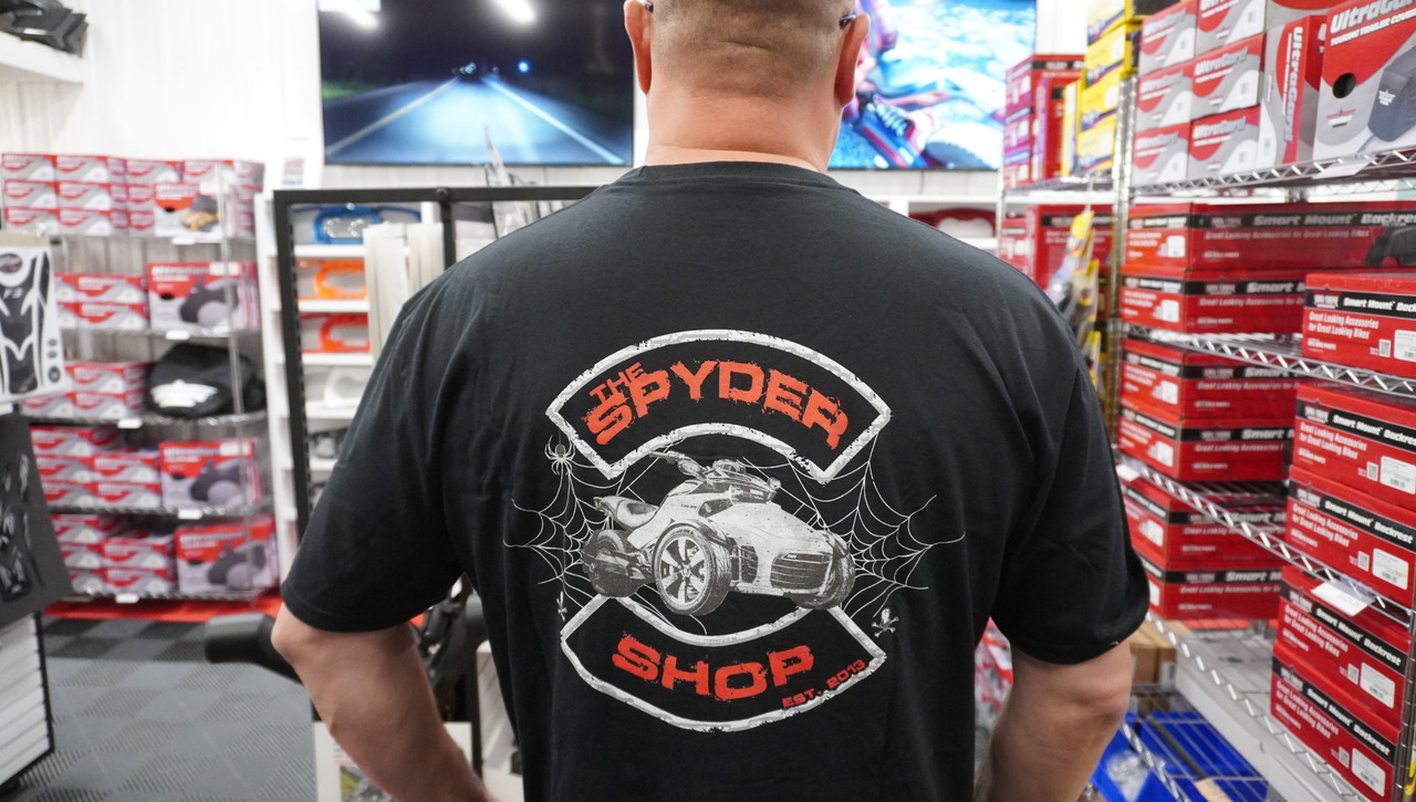 """The Spyder Shop"" T-shirt Black"