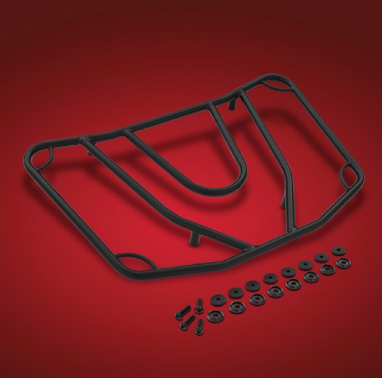 F3T and F3 LTD Black Luggage Rack (fits the BRP Top Case)