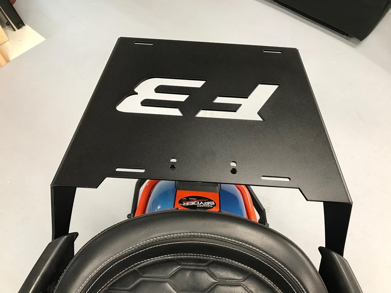 F3 Spyder full Rear Shelf - For 2015-20 - F3 and F3S  (Aluminium)