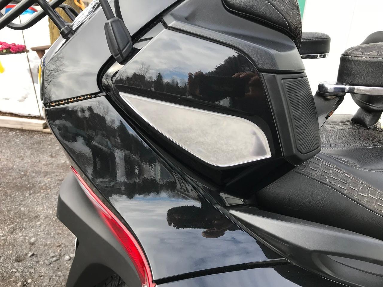 RT Chromed Rear Side Speaker Trims #304 Polyurethane - (2 PCS) 2010-2019
