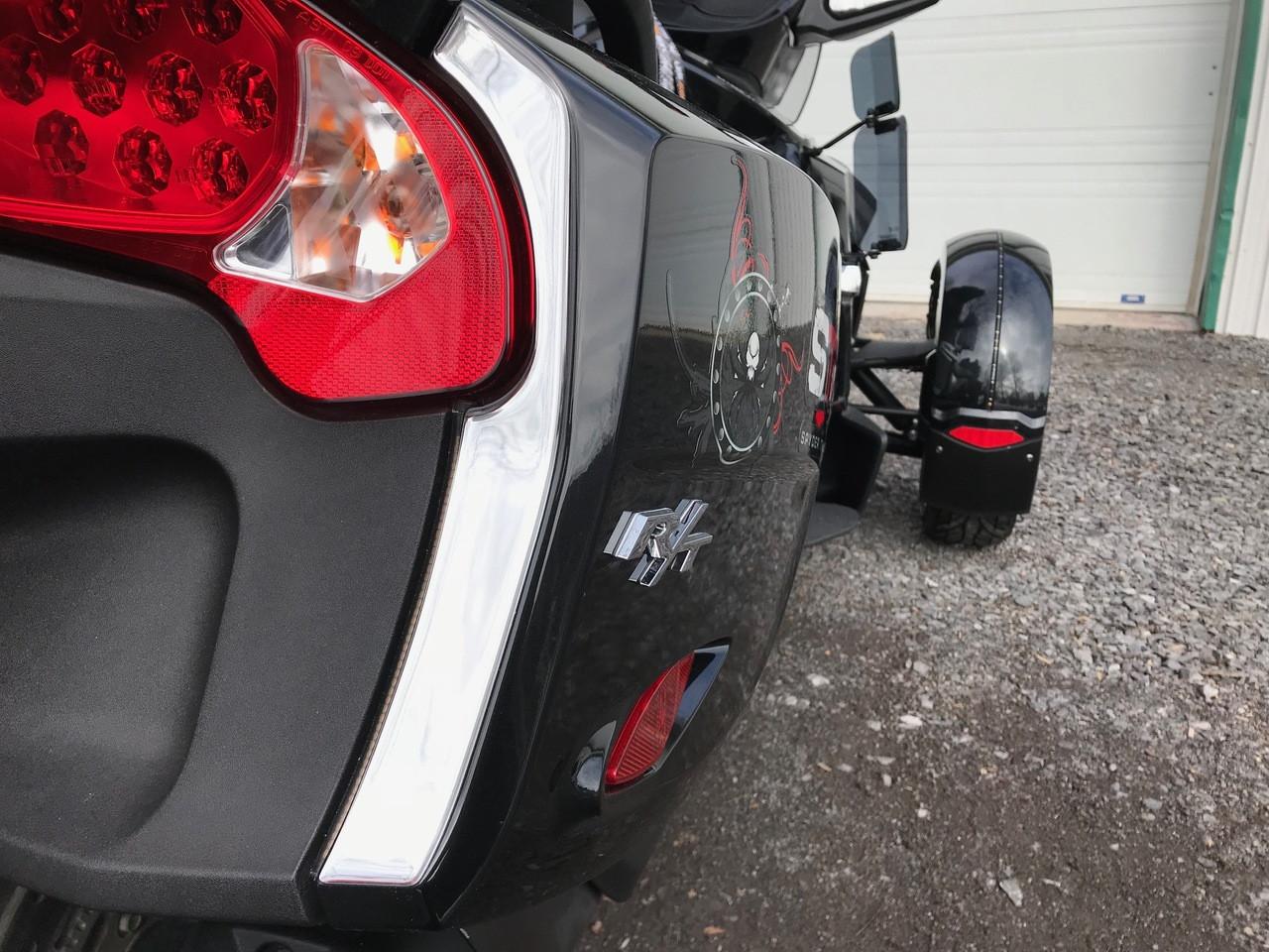 RT Chromed Rear Saddlebag Trims #303 - Polyurethane (4 PCS) - 2010-2019