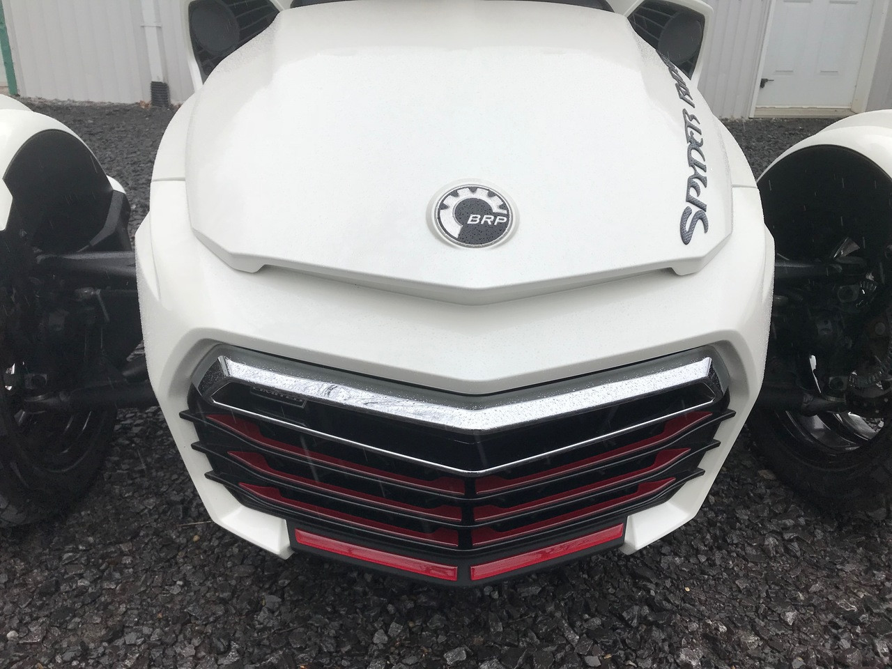 F3 INTENSE RED Front Grill Inserts - Urethane - (18 PCS)