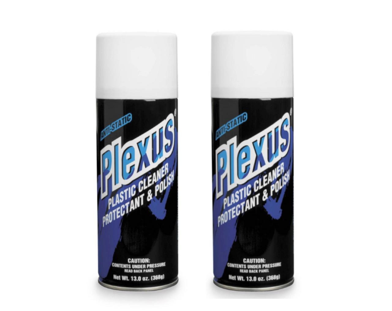 Plexus Plastic Cleaner - 13oz (2 cans)