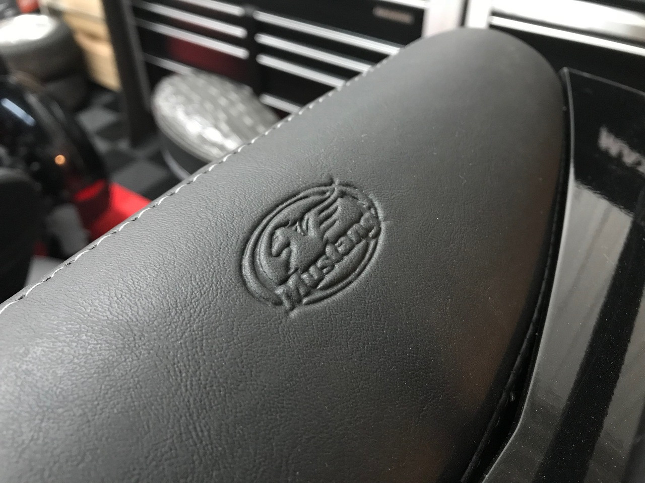 Mustang Passenger Backrest - RT Series (2010 and up)