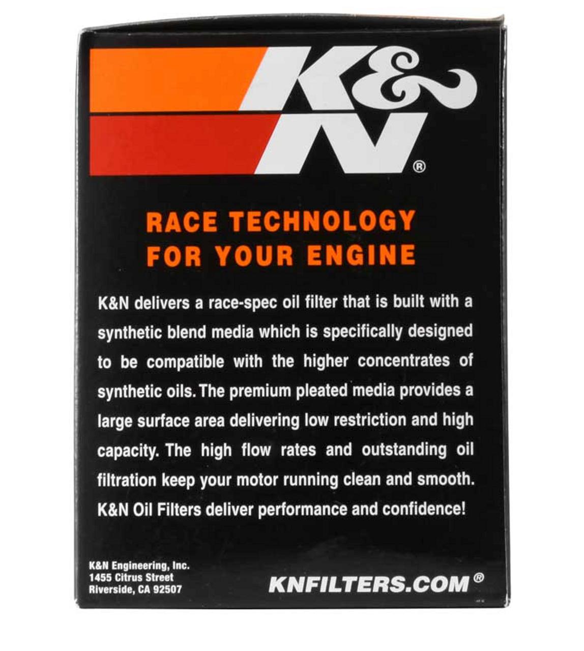 K&N Oil filter for Spyder 1330 (KN-556)