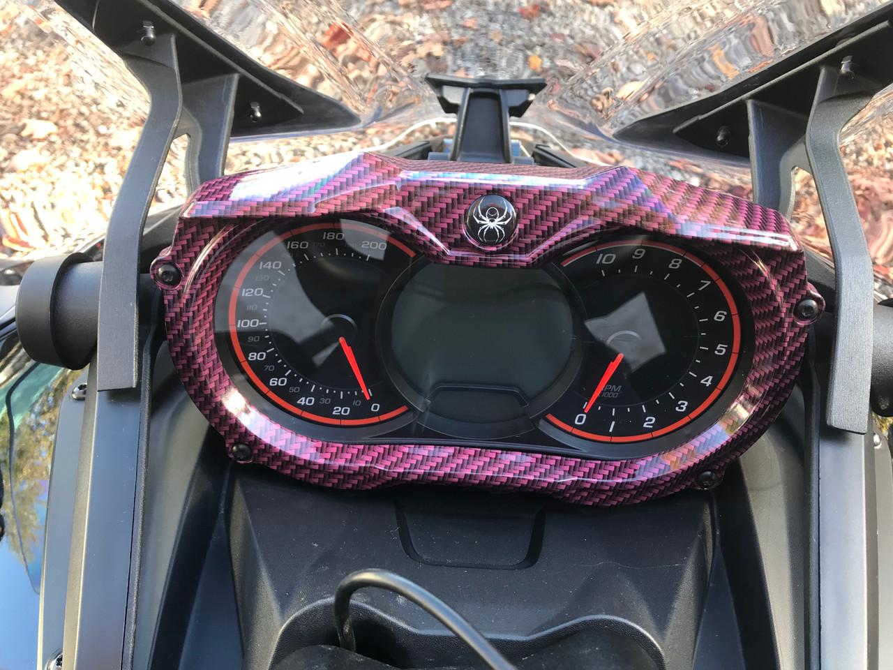 F3/F3s and F3 Daytona Series Pink Carbon Fibre 2015-18 (2 pieces)