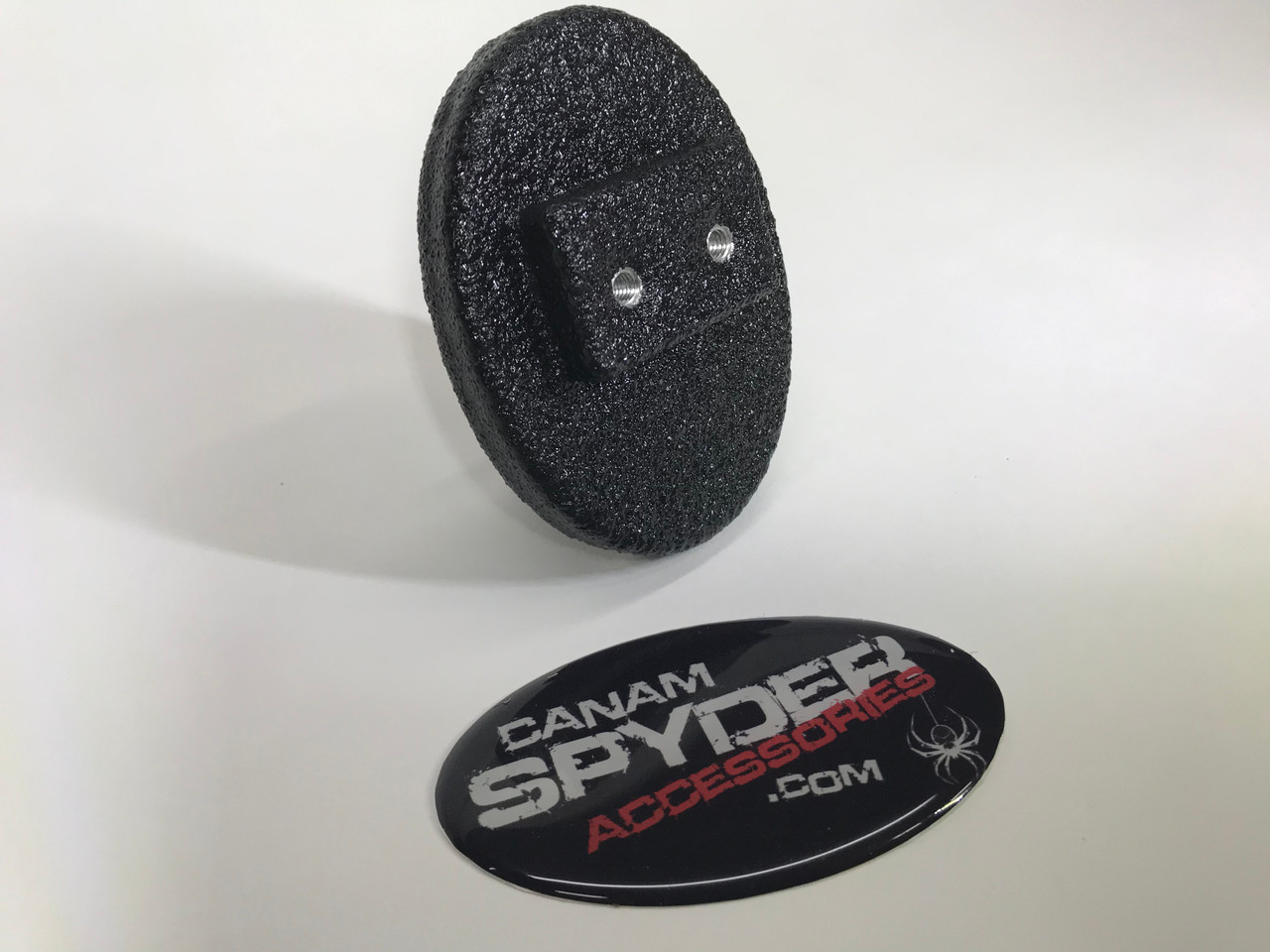 Spyder Brake Pedal - Oval - Billet aluminium with LineX - RT 2010-2019 - All RS-GS -ST - All F3