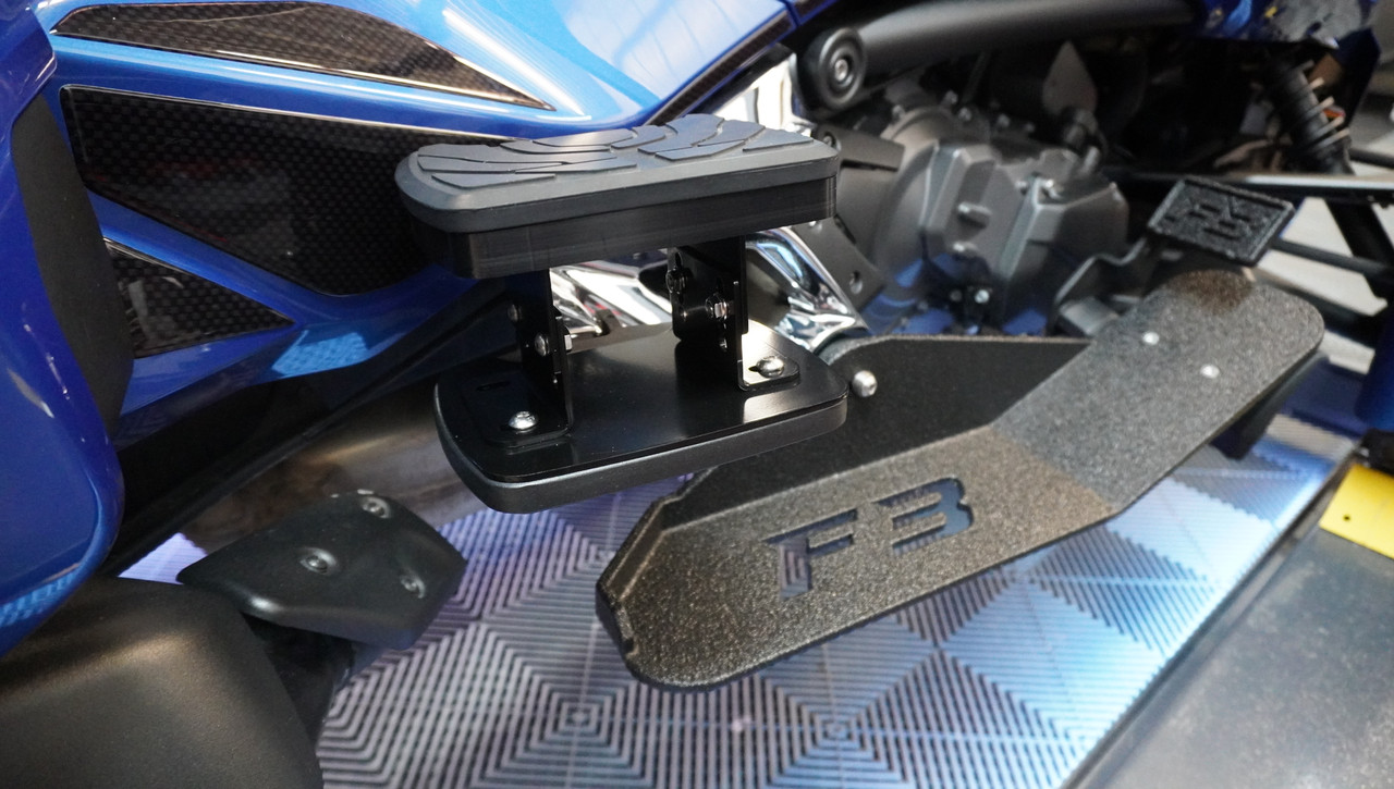 F3 Passenger Floorboard Risers - For BRP Boards Only