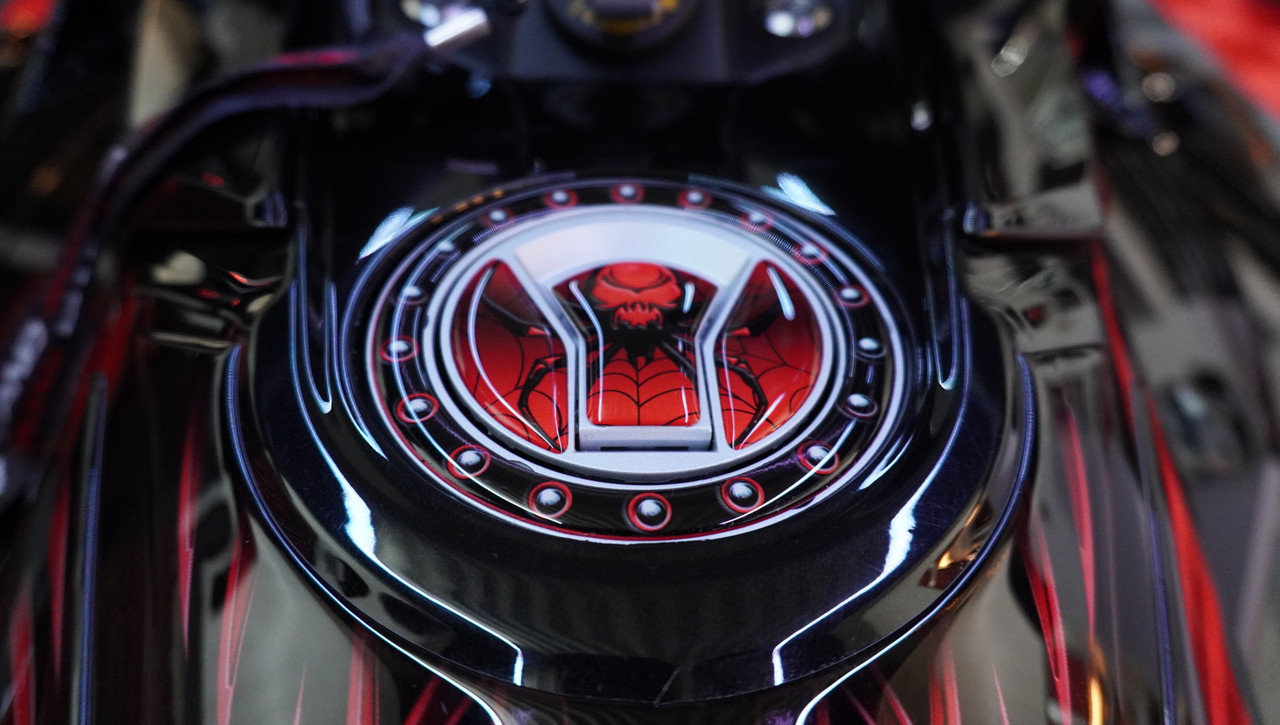 F3 Gas Cap  - # 102 Viper Red - Made from Polyurethane