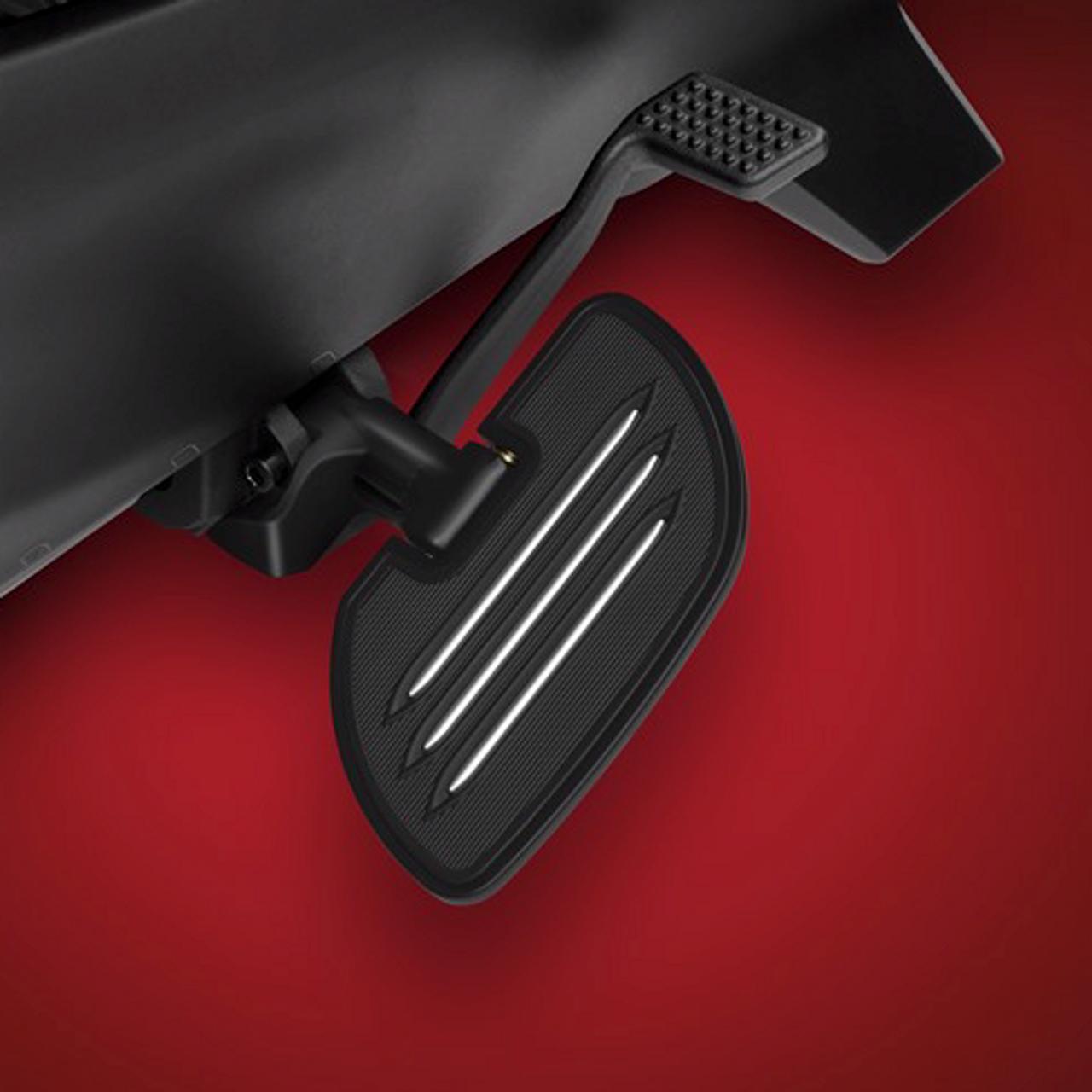 Ryker - Black Commander Driver Floorboards