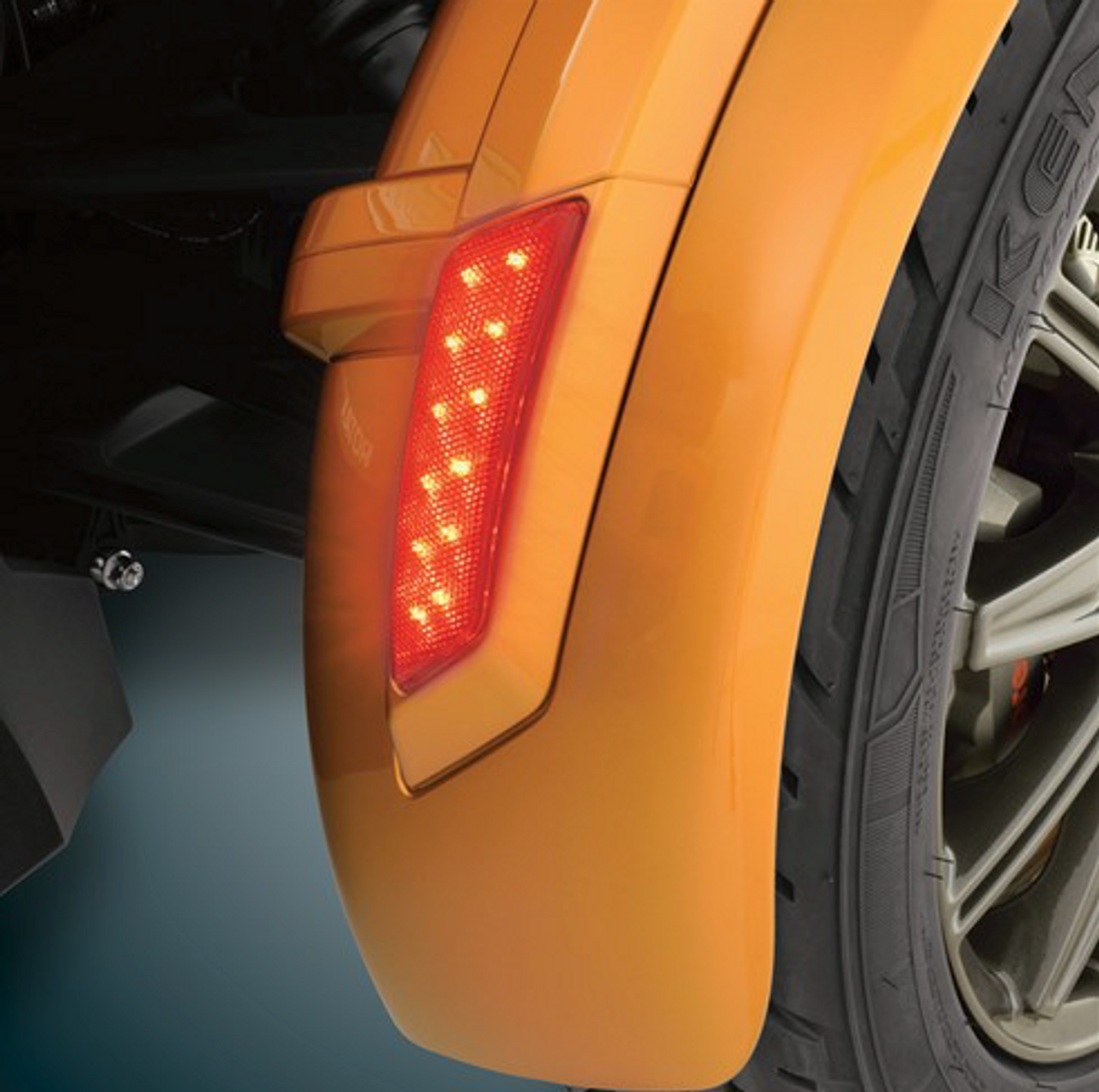 2013-2018 Rear Front Fender Red LED Marker - for RS/ST/RT/F3