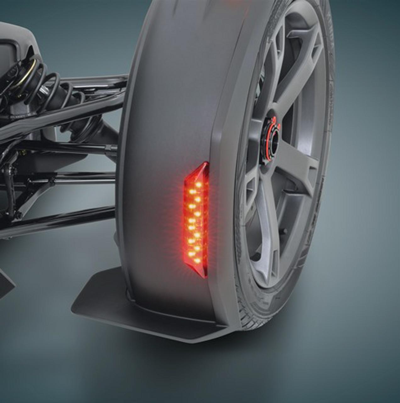 Ryker - Rear Front Fender red LED light