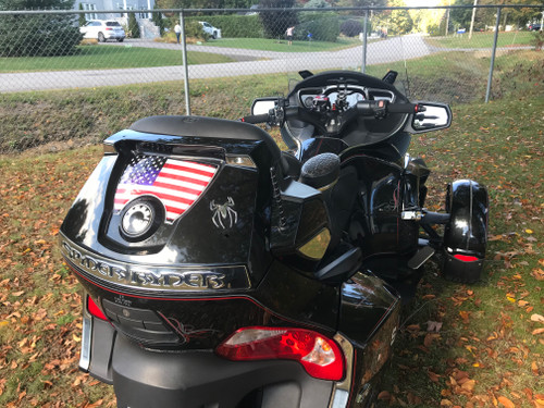 American Flag - RT Series Rear Trunk Polyurethane Decal (2010-2019)