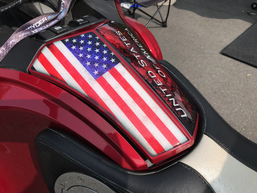 RT Glove Box Protector - Polyurethane - The Flag series -   (All years)