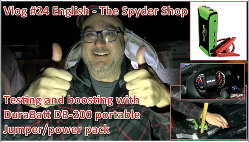 Portable Jumper/Power Pack - The best option for Spyders