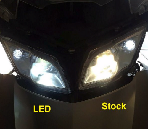 RT Series Can Am Spyder LED Headlights - All years